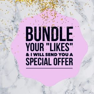 Other - Bundle your likes and I will send you a deal!! 🤩